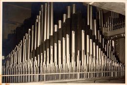 Grande Photo Originale Musique & Eglise - Les Tuyaux D'orgue De L'église Saint Petri à Dortmund En 1950 - Objects