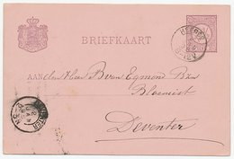 Kleinrondstempel Heerde 1896 - Non Classés