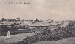 ENTEBBE / SWAHILI LINES / CIRC 1911 - Oeganda