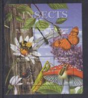 Saint Vincent Grenadines Mushrooms Champignons  Butterflies Papillons   MNH - Pilze
