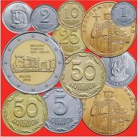 "Malta 2 Euro 2018 ""Mnajdra Temples"" And 11 Coins Of Ukraine - Malte"