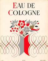 """08288 """"EAU DE COLOGNE"""" DECO. ETICHETTA  ORIGINALE. - Etichette"""
