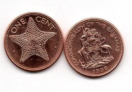Bahamas - 1 Cent 1998 XF+/aUNC- With Dots Lemberg-Zp - Bahamas
