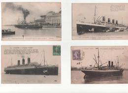 Lot 80 Cpa/cpsm Bateaux Divers - Cartes Postales
