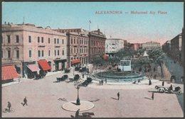 Mohamed Aly Place, Alexandria, 1917 - Cairo Post-Card Trust Postcard - Alexandria
