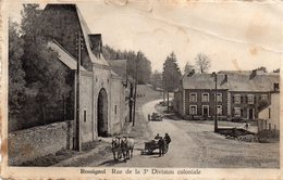 Rossignol  Rue De La 3 Division Coloniale    Pli Au Coin Droit - Tintigny