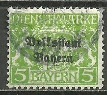 Bayern, Di.Nr. 31 I, PF., Gestempelt - Beieren