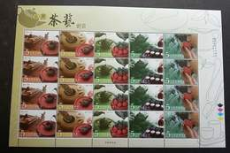Taiwan Taiwanese Tea Ceremony 2006 Drink (sheetlet) MNH - Unused Stamps