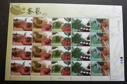 Taiwan Taiwanese Tea Ceremony 2006 Drink (sheetlet) MNH - 1945-... Republic Of China