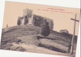 CPA -  938. CAPVERN  - Face Nord Du Château De MAUVEZIN - France