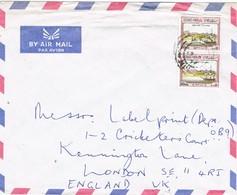 29653. Carta Aerea MUSCAT (Oman) 1979. To London - Omán