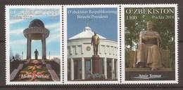 Uzbekistan 2018 - MNH - Monuments & Statues - Uzbekistan