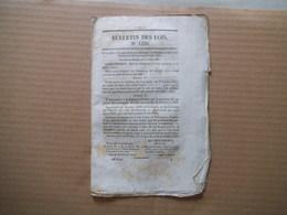 BULLETIN DES LOIS N° 1220 DU 19 JUILLET 1845 COLLEGE COMMUNAL DE LILLE ET SAINT OMER ERIGES EN COLLEGE ROYAL,CELEBRATION - Décrets & Lois