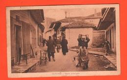 Albania Durazzo Durrës  Durrësi Old Photo 1918 Visto Censura Da Militare Italiano Del Genio XVII° Btg - Albania
