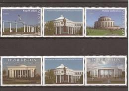 Uzbekistan 2018 - MNH - Architectural Famous Buildings & Structures - Mosque - Uzbekistan