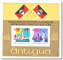 Antigua 1972, Postfris MNH, Inauguration Information Office In New York - Antigua En Barbuda (1981-...)