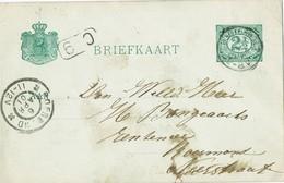 29655. Entero Postal POSTERHOLT (Holland) Nederland 1901 - Periode 1891-1948 (Wilhelmina)