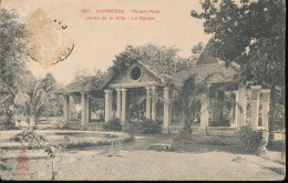 Cambodge -- Phnom - Penh -- Jardin De La Ville -- La Voliere - Cambodia