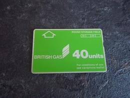 CARTE TELEPHONIQUE BANDE MAGNETIQUE COMPAGNIES PETROLIERES BRITISH GAS T.B.E !!! - Royaume-Uni