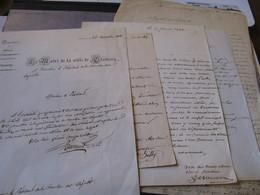 LETTRE AUTOGRAPHE SIGNEE MAIRE DE CLAMECY 1838 NIEVRE NIVERNAIS LOT PROVINCE JUSTICE URBANISME à DUPIN AINE - Autógrafos
