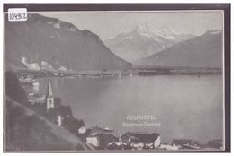 DISTRICT DE VEVEY - MONTREUX TERRITET - GOLF HOTEL - TB - VD Waadt