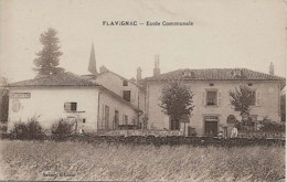 FLAVIGNAC (87) Ecole Communale - France