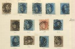 Médaillons  Belgique Pas Vraiment Triés  Cote 380-euros Cote Des Moins Chers - 1858-1862 Medallions (9/12)