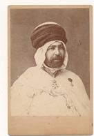 Photo Cabinet - Personnage à Identifier - Légion D'Honneur, Ordre De Nichan Iftikhar - A. Leroux, ALGER - Photos
