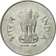 Monnaie, INDIA-REPUBLIC, Rupee, 1995, TTB, Stainless Steel, KM:92.1 - Inde