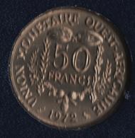 AFRIQUE DE L'OUEST 50 FRANCS 1972 KM# 6 - Autres – Afrique