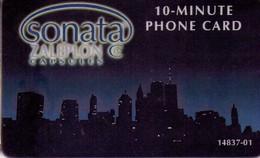 TARJETA TELEFONICA DE ESTADOS UNIDOS (PREPAGO). SONATA, ZALEPLON C CAPSULES 10 MINUTES. (057) - Vereinigte Staaten