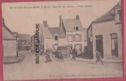 62 - ETAPLES SUR MER----Quartier Des Marins--animé - Etaples