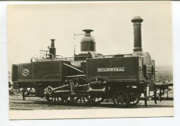 """Dampflokomotive """"Muldenthal"""",Deutsche Fotothek Dresden 1970,ungelaufen - Trains"""