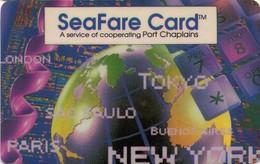TARJETA TELEFONICA DE ESTADOS UNIDOS (PREPAGO). SEAFARE CARD - PORT CHAPLAIN, CASA DEL MARINO. (058) - United States
