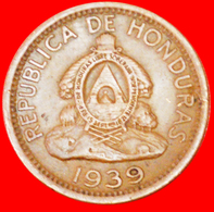 # USA (1939-1956): HONDURAS ★ 2 CENTAVOS DE LEMPIRA 1939! LOW START ★ NO RESERVE! - Honduras