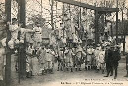 LE MANS - 117° Régiment D'infanterie, La Gymnastique - Le Mans