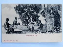 C.P.A. : FIDJI, FIJI : Princesses Of Fiji, In 1906 - Fidji