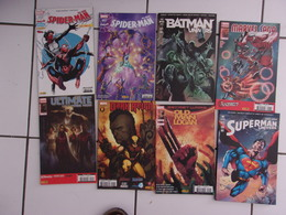 Lot 8 Comics Superman Batman Univers + Marvel Mensuels Dark Reign, Spider Man... - Books, Magazines, Comics