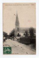 - CPA SAINT-PIERRE-DE-FRANQUEVILLE (76) - L'Eglise 1910 - Editions L'Hirondelle - - Francia