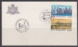 San Marino 1980 London 2v FDC (40111A) - FDC