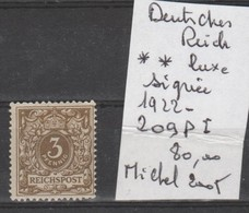 TIMBRES D ALLEMAGNE NEUF ** LUXE   Nr 229 P I SIGNEE COTE 80 € - Ungebraucht