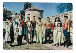 COSTUMI NAZIONALI DI CETINJE , MONTENEGRO - VIAGGIATA FG - Montenegro
