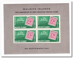 Maldiven 1961, Postfris MNH, 55 Years Maldive Stamps - Maldiven (1965-...)