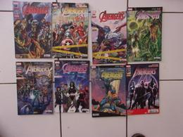 Lot 8 Comics  Marvel Mensuels AVENGERS All New 1 6 8 10 + Hors Série 1 2 3... - Lots De Plusieurs BD