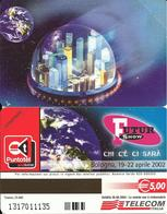 FUTUR SHOW 2002 SCHEDA TELECOM N. 44  EX  1542  NUOVA - Italy
