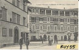 Toscana-pistoia-montagna Pistoiese S.marcello Pistoiese Palazzo Buccelli Animata Veduta Primi 900 - Italia