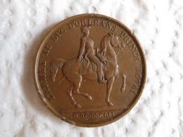 Medaille Armée Au Duc D'Orléans Prince Royal.1842. Louis Philippe I . Par BARRE - France