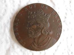 Medaille THIERRI I Roy De France, Gravée Par Thomas Bernard En 1712 - France