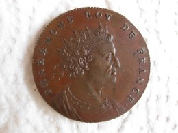 Medaille Pharamond Roy De France, Gravée Par Thomas Bernard En 1712 - France