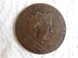 Medaille CHILPERIC II  Roy De France, Gravée Par Thomas Bernard En 1712 - France